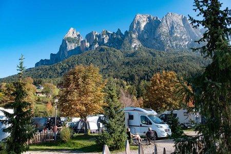 Komfortstellplatz Typ B Camping Seiser Alm