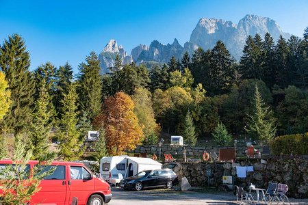 Komfortstellplatz Typ A Camping Seiser Alm