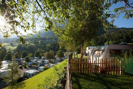 Komfortstellplatz Typ C Camping Seiser Alm