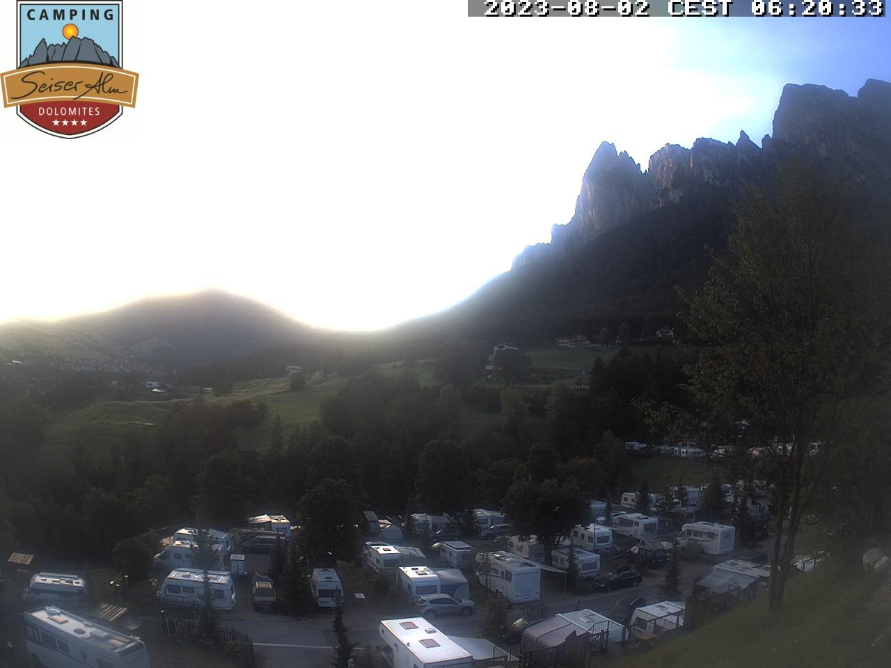 Camping Seiser Alm - Webcam 2